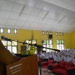 Teks Foto: Asisten Administrasi Setdakab Aceh Timur, Muhammad Amin, SH saat menyampaikan sambutan dan arahan pada pembukaan diklat prjabatan golongan II dan III formasi khusus bidan dan dokter PTT. Foto Bagian Humas Aceh Timur.