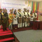 Rosdaner saat Melantik Mahasiswa Meranti Yogyakarta
