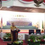Wakil Bupati Meranti saat menyampaikan Hasil SPIP Kabupaten Meranti di Gedung daerah (foto:wan)