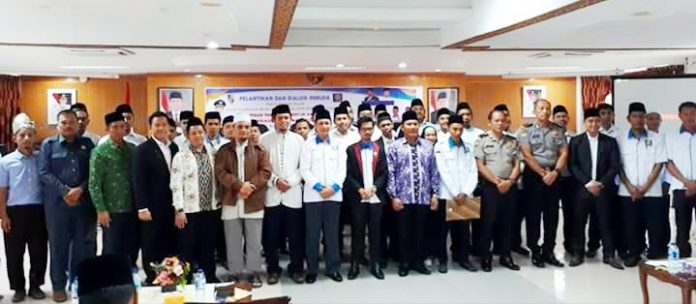 Ketum GEMAINDO foto Bersama Ketua ICMI Muda