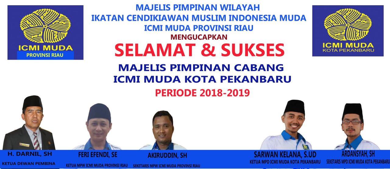 Ucapan Pelantikan ICMI Muda Pekanbaru
