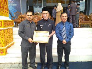 Said Hasyim Foto bersama usai menerima Penghargaan