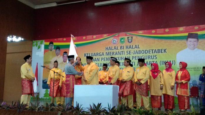 Wakil Bupati Meranti Mengukuhkan Pengurus IKMJ Masa Khidmat 2018-2021, Sekaligus Halal Bi Halal Bersama Masyarakat Meranti Jakarta