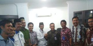 Foto Bersama usai silaturrahmi tampak Kacab TVRI salam Komando dengan ketua ICMI Muda Pekanbaru