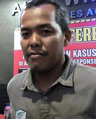 Kepala Bksda Aceh Sapto Aji Prabowo