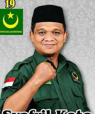 Syafril Koto. Sekretaris. DPW PBB Riau