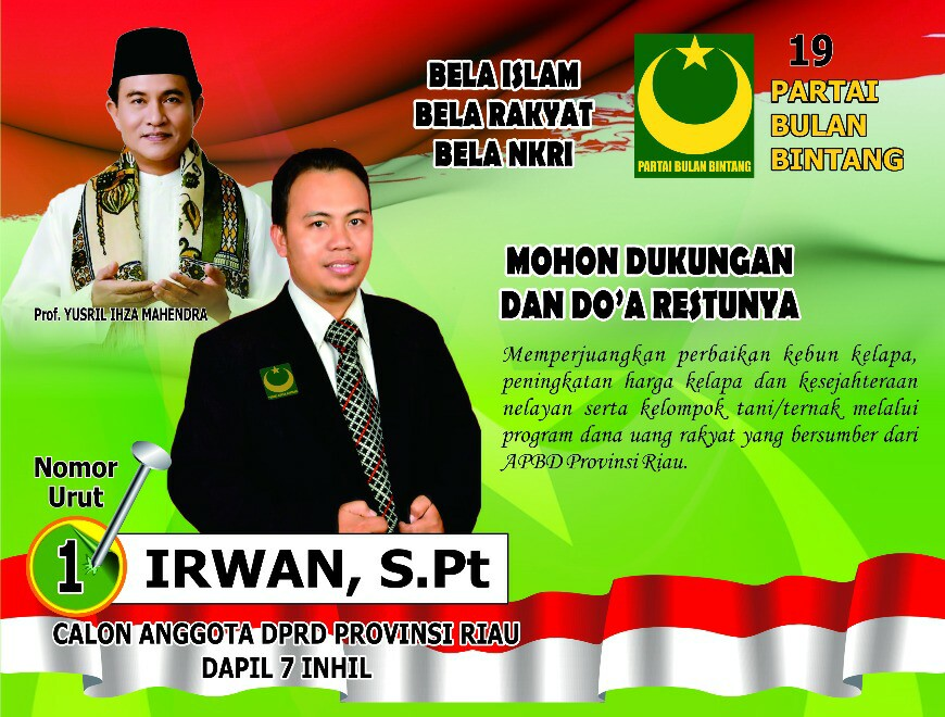 Caleg DPRD Riau Dapil 7 Inhil