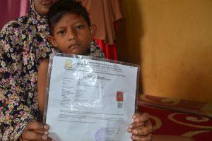 Anak Kelima Dari Nurdin dan Nurlela Korban Meninggal saat  penangkapan Kapal Moto Bintang jasa DI perairan Myanmar