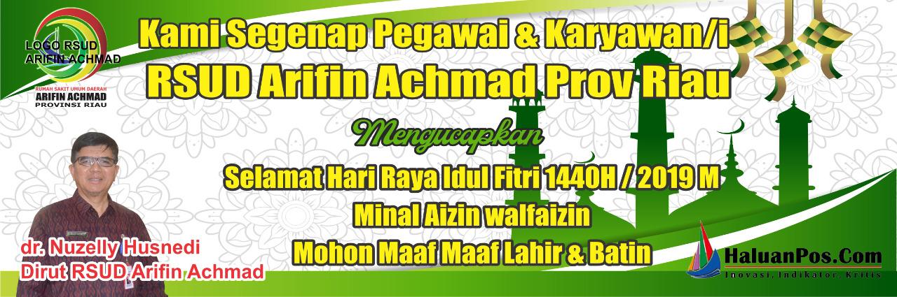 Iklan Ucapan Idul Fitri 1440H