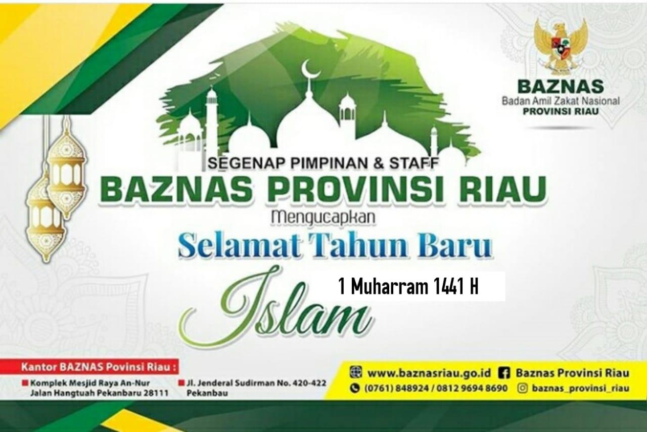 Ucapan BAZNAS Prov Riau