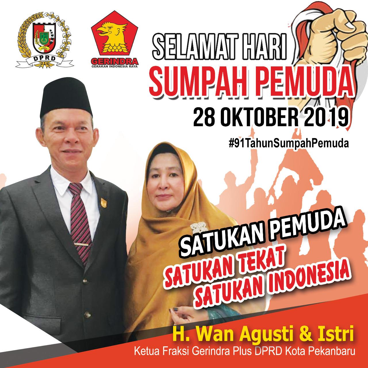 Ucapan Hari Sumpah Pemuda 28 Oktober