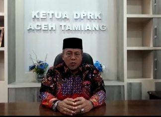 Suprianto Ketua DPRK Aceh Tamiang