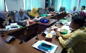 Penanggung jawab Pansus RIPKD, Ir Nofrizal MM meminta masukan Ranperda kepada tim ahli