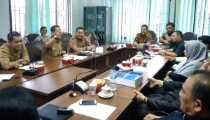 Kadisbupar Pekanbaru, Nurfaisal menjelaskan aturan Ranperda Rencana Induk Pembangunan Kepariwisataan Daerah