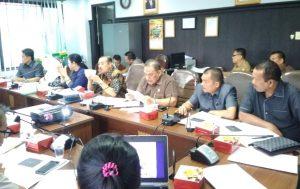 Turut hadir semua anggota Komisi III DPRD kota Pekanbaru dalam hearing dengan BPD Pekanbaru