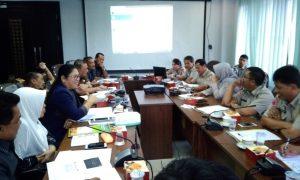 Ketua dan anggota Komisi III melihat pemaparan program BPBD Pekanbaru