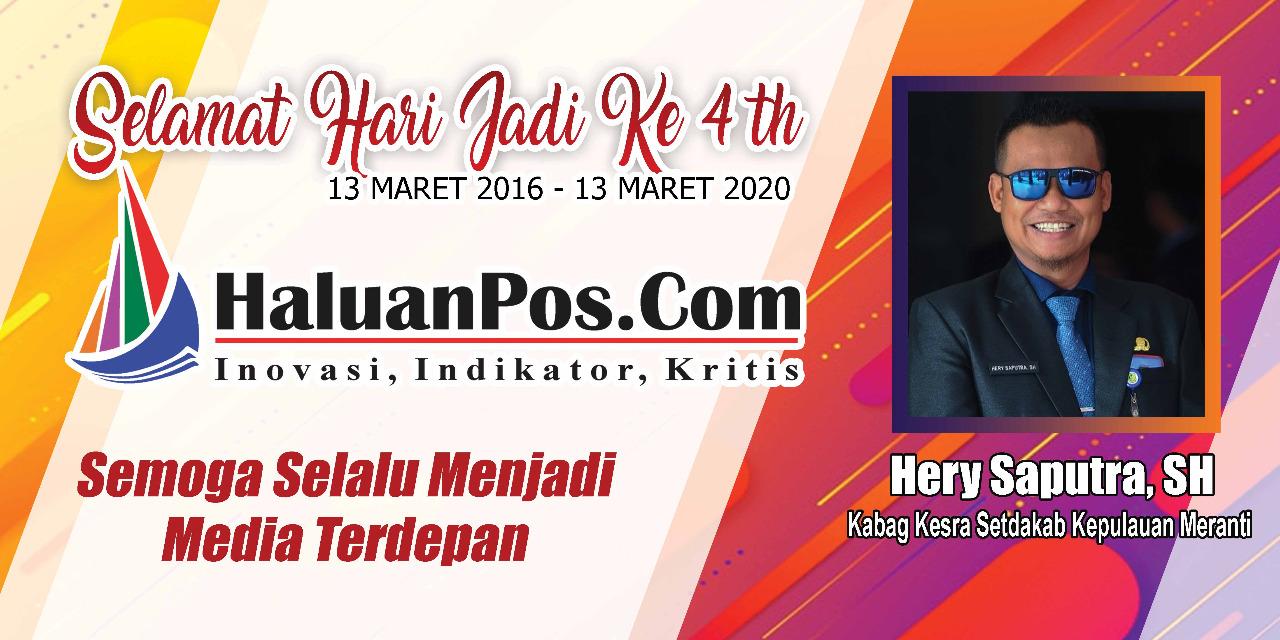 Ucapan Hut Media Haluanpos.com
