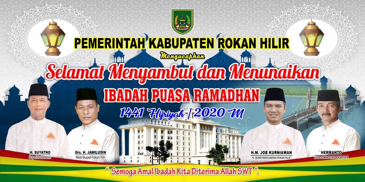 Iklan Ucapan Selamat Ramadhan 1441H Pemkab Rokan Hilir