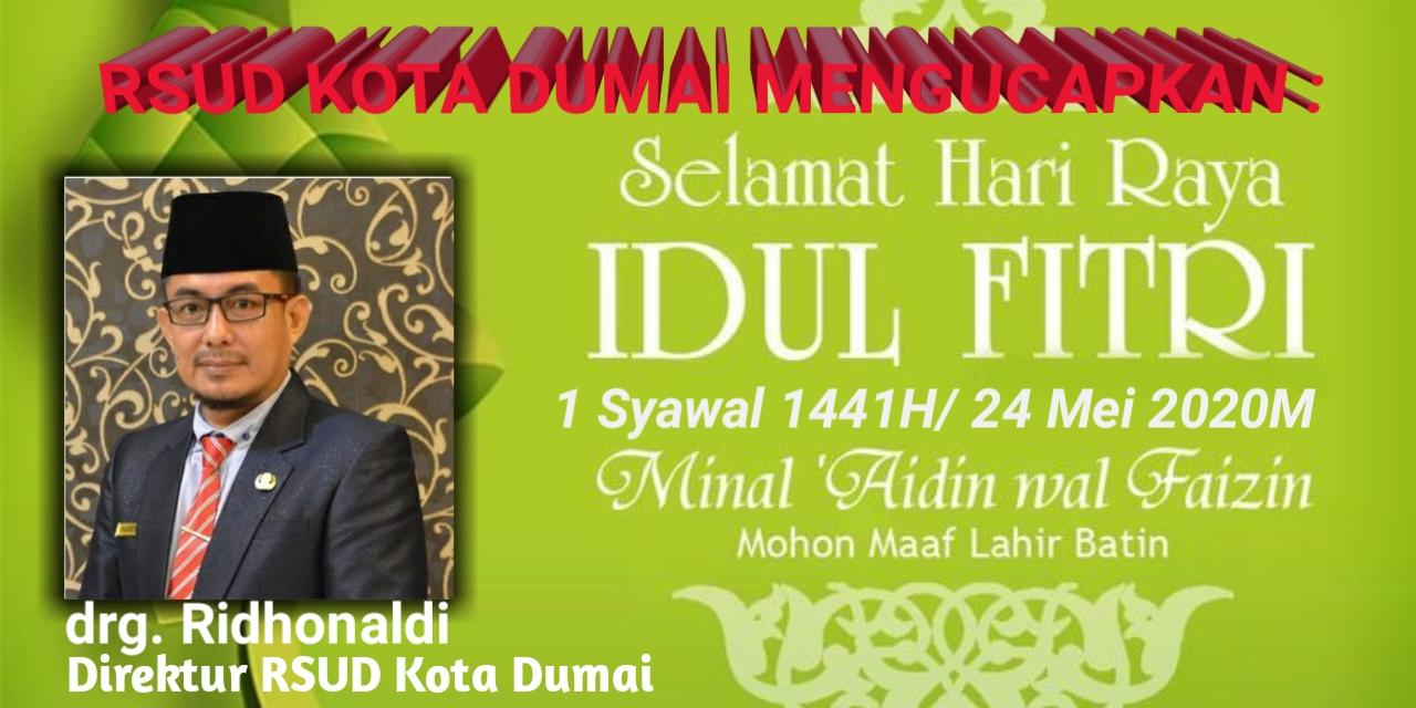 Iklan Ucapan Idul Fitri RSUD Dumai