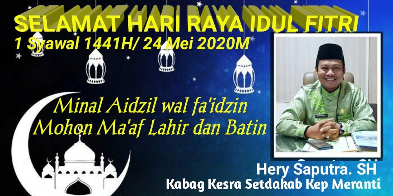 Ucapan Idul Fitri 1441H