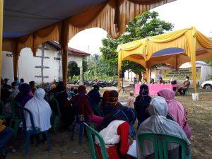 Ratusan masyarakat RW 04 Kelurahan Kulim mengikuti Kegiatan Reses Sovia Septiana, S.Sos