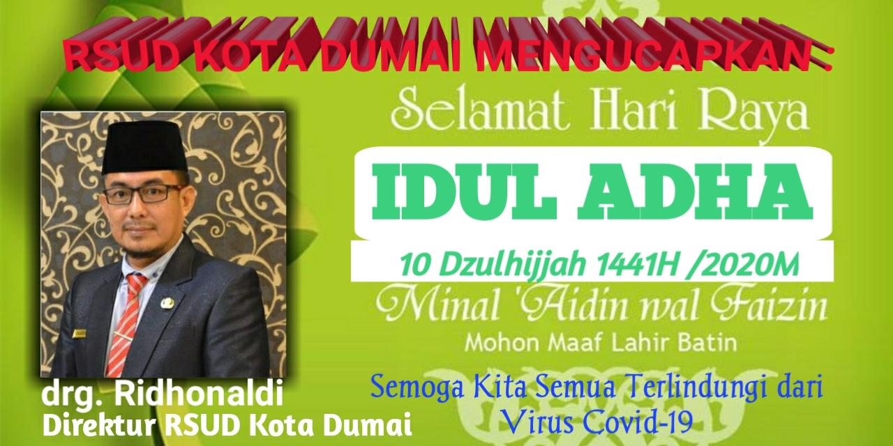 Ucapan Idul Adha RSUD Kota Dumai