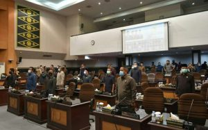 Turut hadir seluruh anggota DPRD Kota Pekanbaru