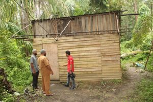 Rumah Keluarga Korban Pemerkosaan dan Pembunuhan di Aceh timur
