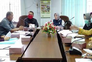 Wakil Ketua Komisi II dan anggota meminta kelejasan pihak Darma Yudha dan Djuwita