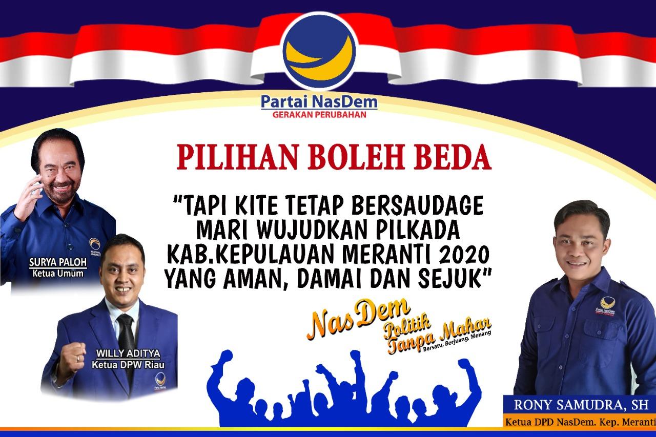 Partai Nasdem Kab Meranti