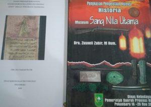 Berkas Hasil kajian tim ahli dalam rangka kegiatan pengelolaan koleksi museum Sang Nila Utama Provinsi Riau