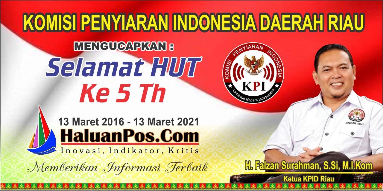 Ucapan Dari Ketua KPID Riau