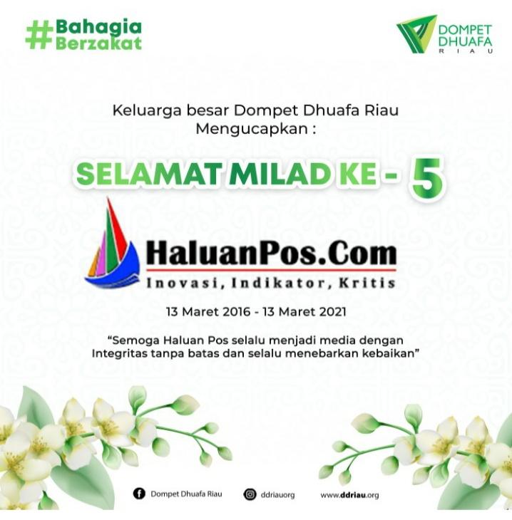 Ucapan Milad Dari DD Riau