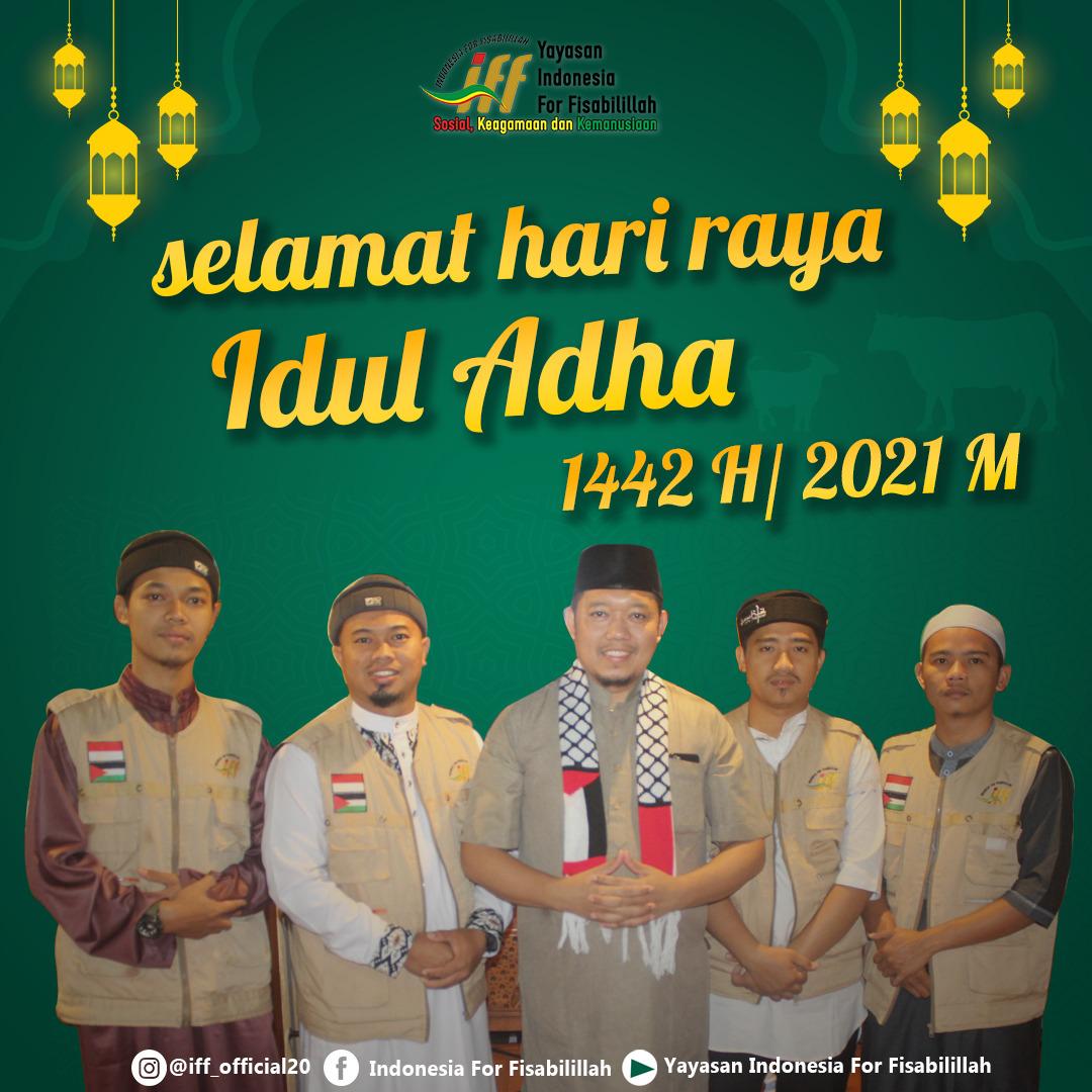 Ucapan Idul Adha 1442H Yayasan Indonesia For Fisabilillah